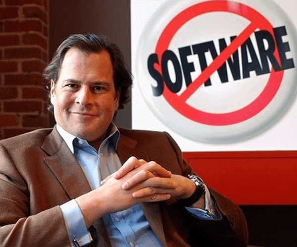 Marc Benioff – founder of the SaaS Salesforce.com