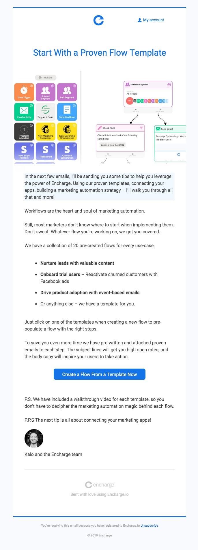 Onboarding Flow Email