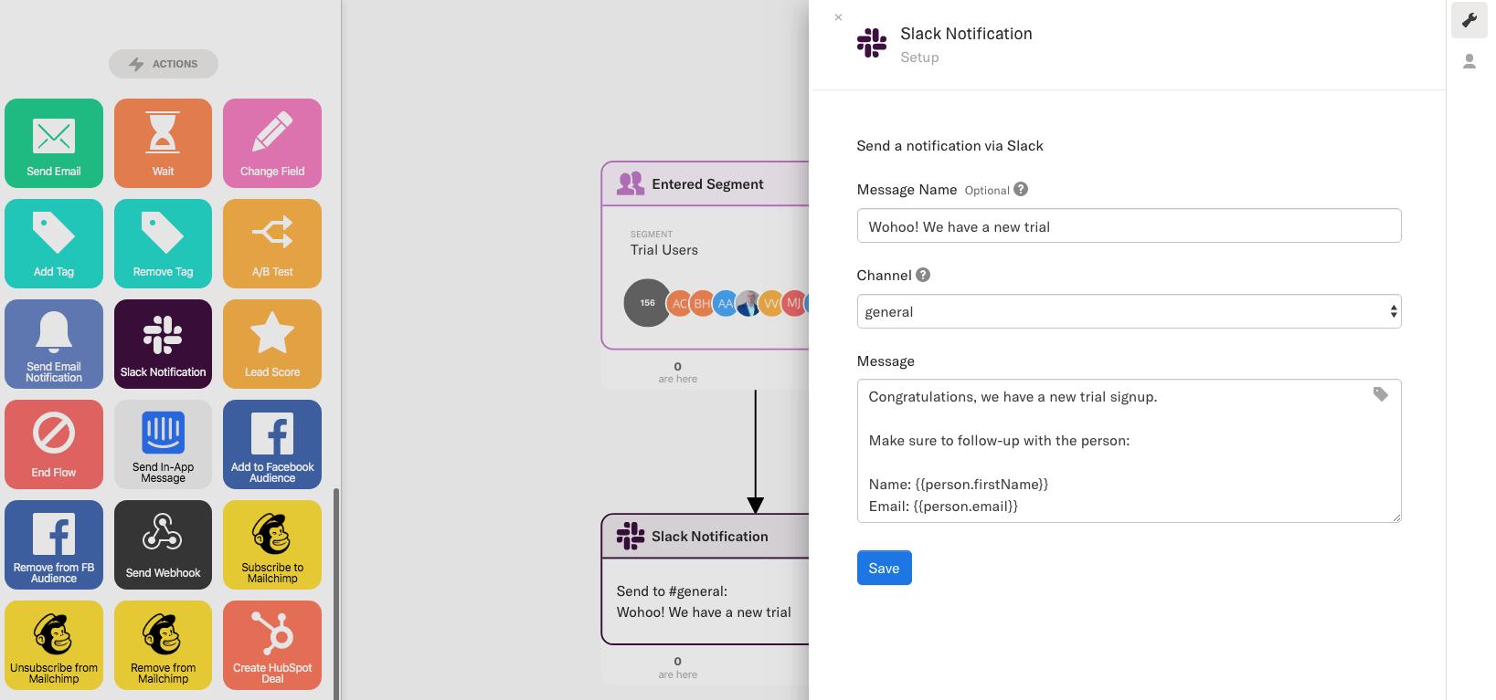 Slack Integration — Encharge