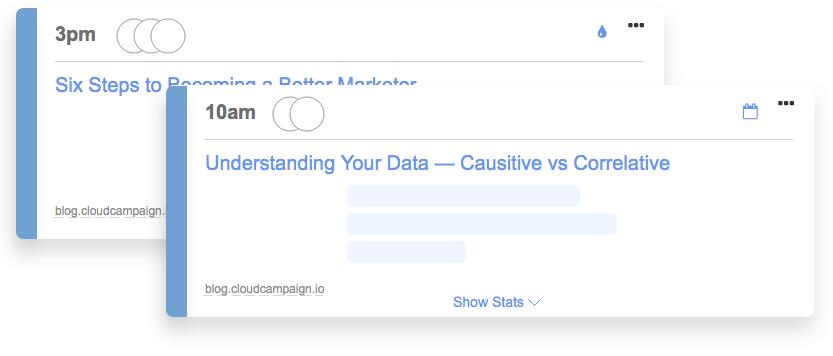 aha moment examples -  CloudCampaign